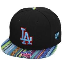 Los Angeles Dodgers mlb '47 brand LA snapback спортивная кепка цветная черная