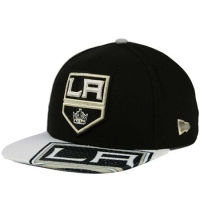 Los Angeles Kings nhl new era snapback хоккейная кепка черная