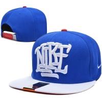 Nike snapback рэперская кепка с прямым козырьком синяя