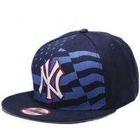 New York Yankees mlb new era NY snapback спортивная кепка темно-синяя