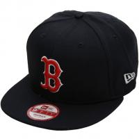 Boston Red Sox mlb new era snapback спортивная кепка с прямым козырьком черная