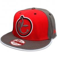 YUMS new era snapback кепка с прямым козырьком красная