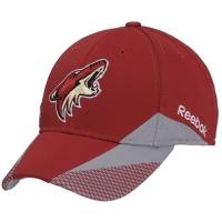 Arizona Coyotes nhl reebok flex-fit хоккейная спортивная бейсболка бордовая
