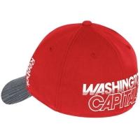 Washington Capitals nhl reebok flex-fit хоккейная бейсболка красно-серая