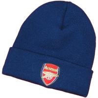 Arsenal FC футбольная зимняя шапка с отворотом темно-синяя