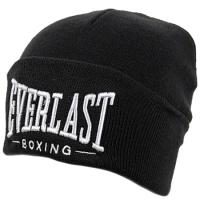 Everlast шапка зимняя с отворотом черная