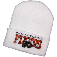 Philadelphia Flyers nhl new era шапка хоккейная с отворотом белая