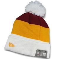 Washington Redskins nfl new era шапка с помпоном цветная