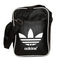 Adidas originals молодежная 26x35x15 сумка черная