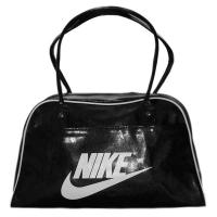 Nike спортивная молодежная 42x28x16 сумка черная