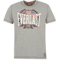 Everlast round one спортивная футболка серая
