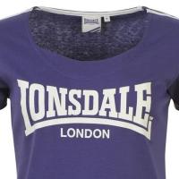 Lonsdale London женская футболка фиолетовая